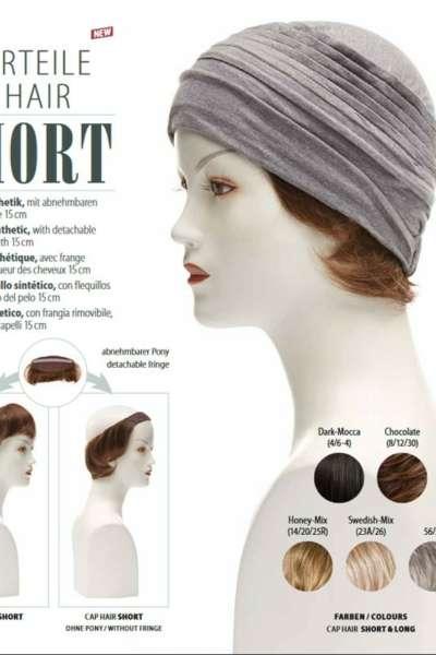 Haarteile CAP HAIR SHORT