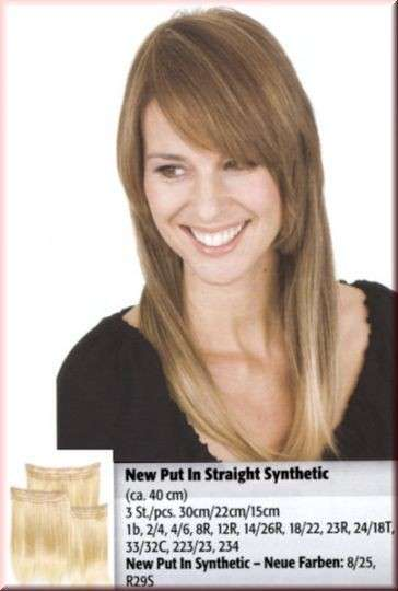 NEW PUT IN STRAIGHT SYNTHETIC