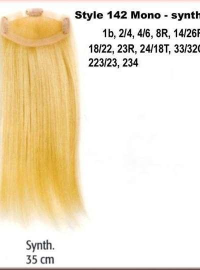 STYLE 142 MONO - SYNTHETIC Haarlänge 35 cm