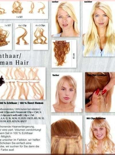 TOKYO 100 % Echthaar / 100 % finest Human Hair