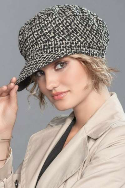 Mütze MALIA Beige Black