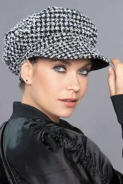 Mütze MALIA Black White