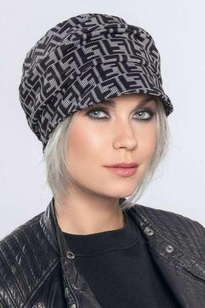 Mütze MUNA Grey Black
